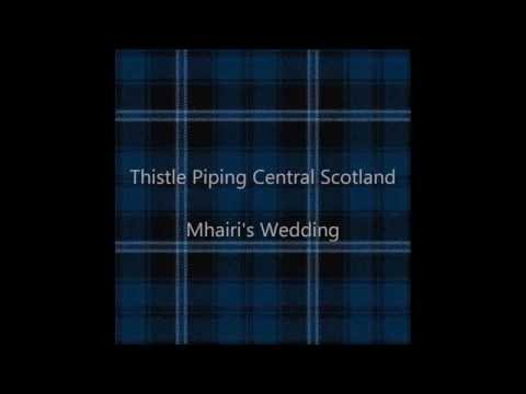 Thistle Piping Central Scotland - Mhairi's Wedding