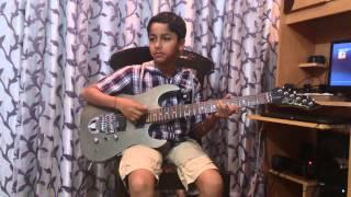 har kisi ko nahi milta yahan pyar zindagi mein guitar cover by rio