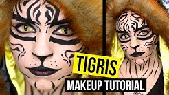TIGRIS - The Hunger Games - Makeup Tutorial