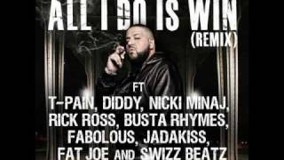 "DJ Khaled ""All I Do Is Win"" remix"