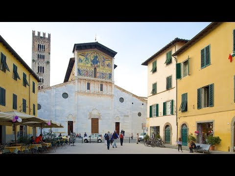 Top Destinations Italy, Basilica of San Frediano, Lucca