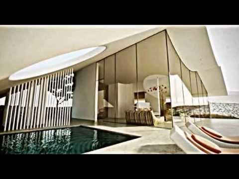 3d architekturdarstellung moderne villa wüste aiko studio