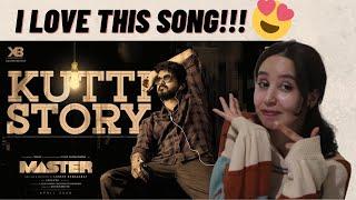 KUTTI STORY Video Song REACTION   #Master   Thalapthy Vijay