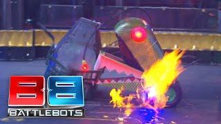 BattleBots Basement - Chomp vs. Kraken - Unseen Grudge Match from BattleBots 2018