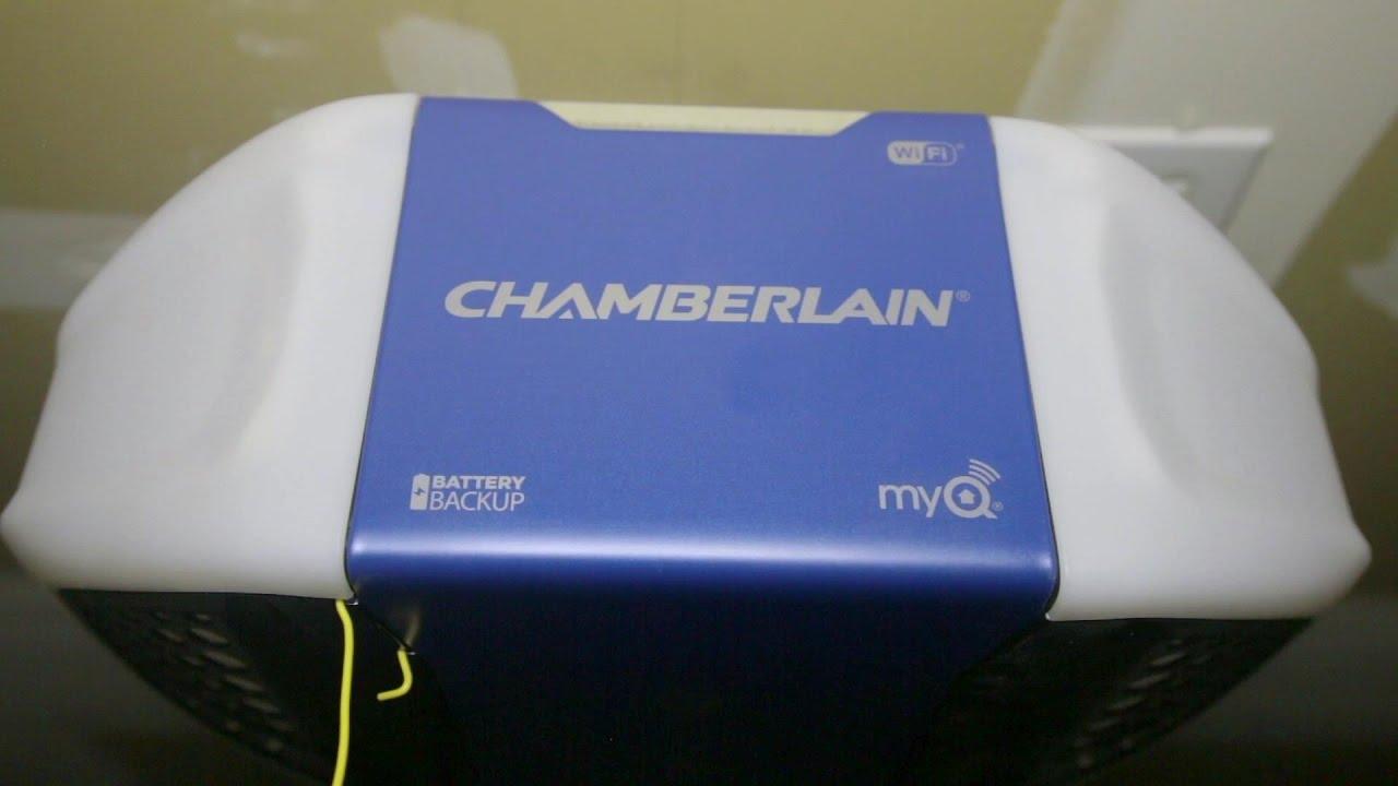 chamberlain wd1000wf 114 hps wifi garage door opener review