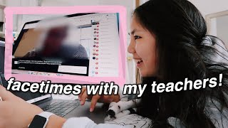 first day of online school (i miss my friends)