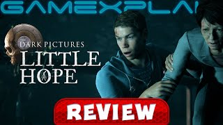 The Dark Pictures Anthology: Little Hope - REVIEW (PS4) (Video Game Video Review)