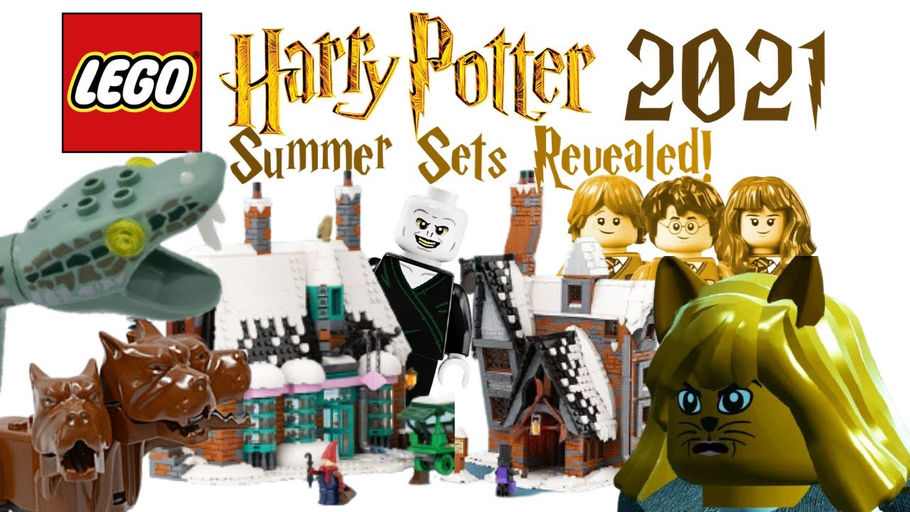 Lego Harry Potter 2021 Summer 20th Anniversary Sets Revealed Hogsmeade Chamber Of Secrets More Youtube