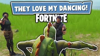 THEY LOVE MY DANCING :D | Fortnite #1