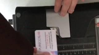 Как закруглить углы у визиток