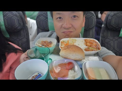 Food Review! EVA Air ECONOMY CLASS New York to Saigon Vietnam & First Day in Vietnam