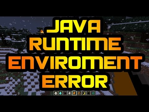 Runtime Environment issues - fix java problems for cracked/legit minecraft