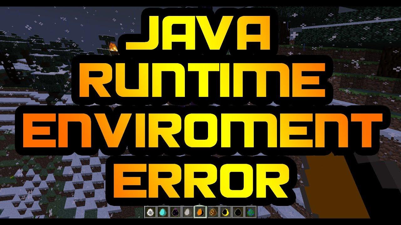 minecraft runtime environment