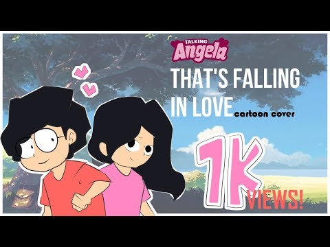 Talking Angela Song - That's falling in love | Cartoon Cover by Antik Mahmud