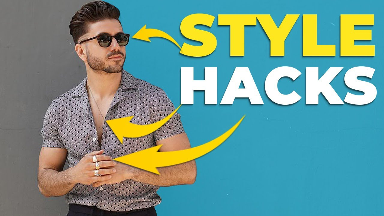 5 Men's Fashion Hacks to Make ANY OUTFIT BETTER | Men's Style 2019 | Alex Costa 2