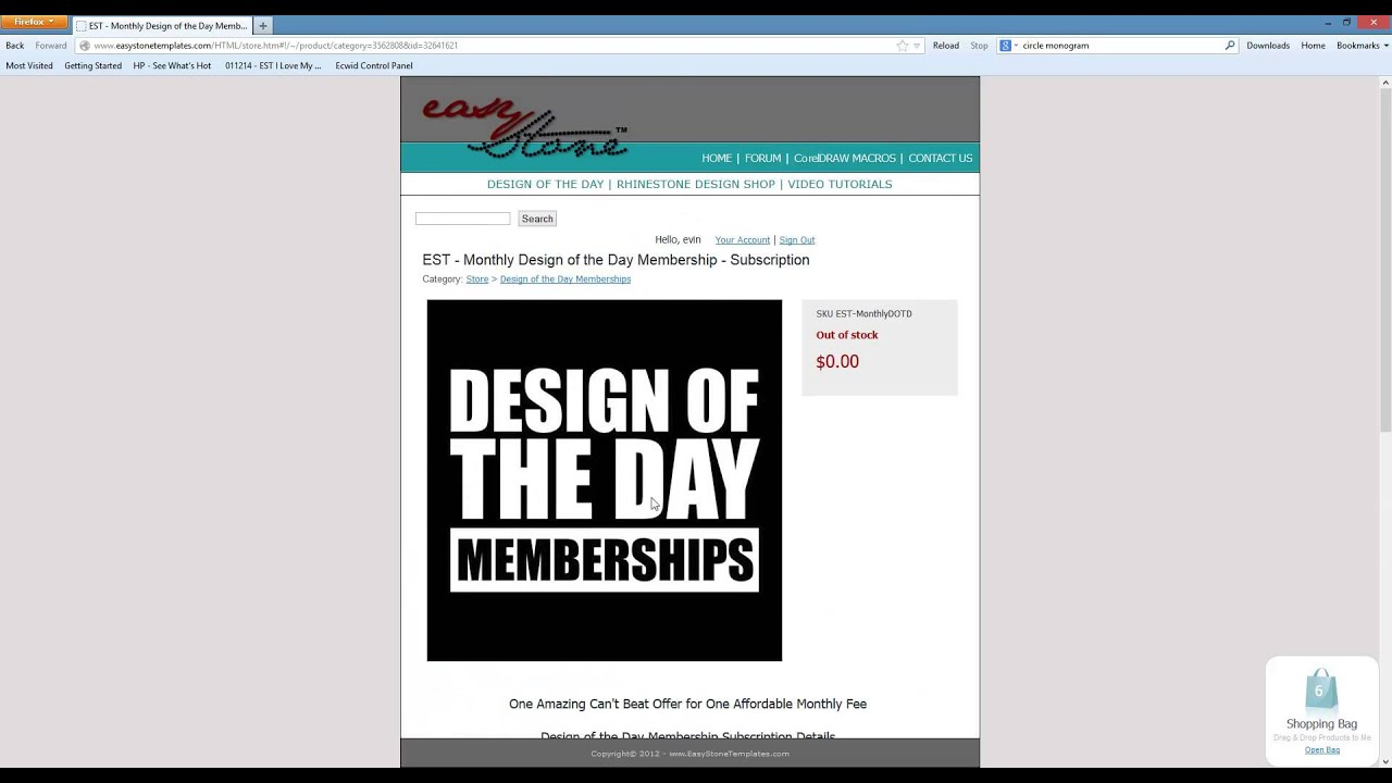 Easy Stone Templates - Design of the Day Membership How Does it Work ...