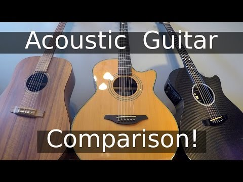 carbon fiber vs wood vs hpl - guitar blind test challenge!