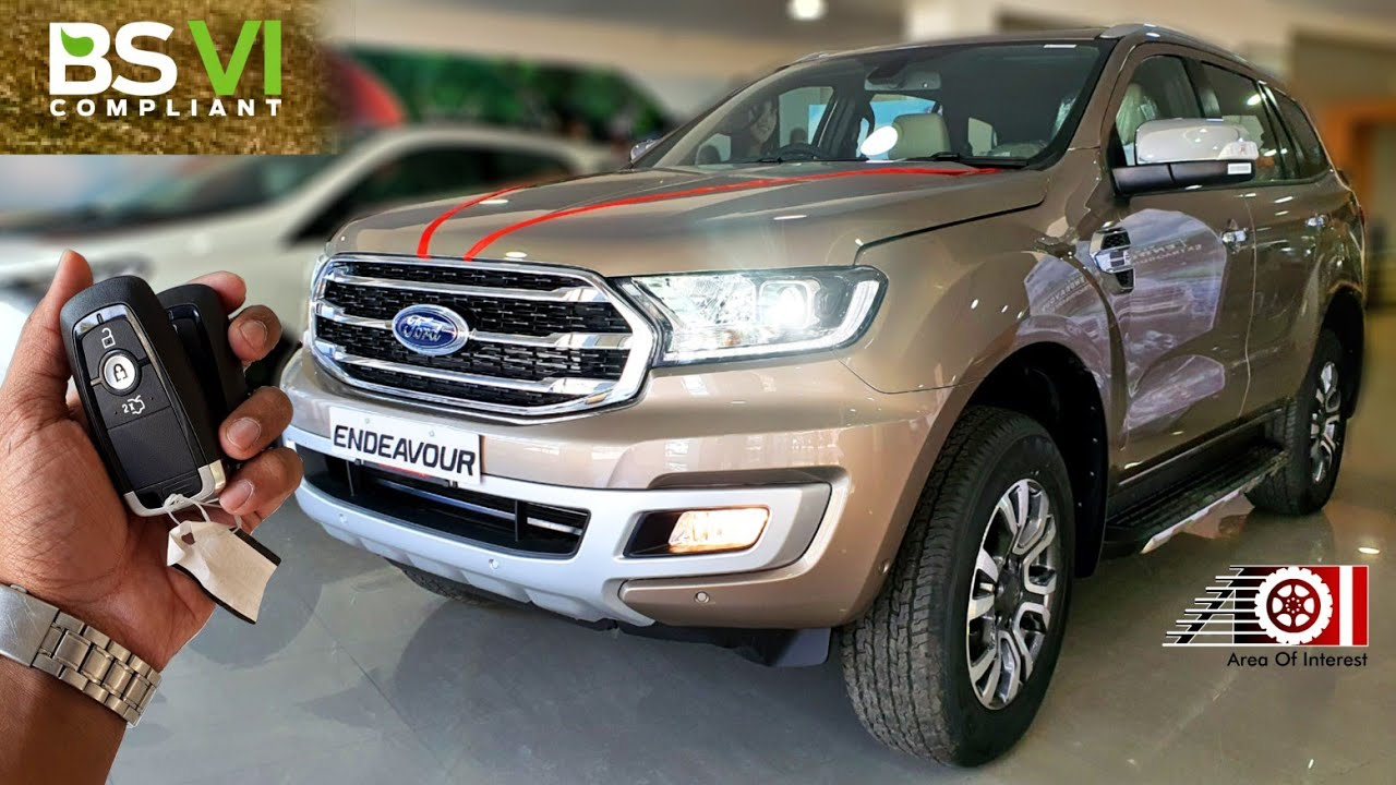 2020 Ford Endeavour Bs6 2 0 All Colours On Road Price List Mileage Features Sunroof Youtube