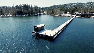 Tahoe During And After Drought Captured With Incredible Aerial Footage