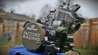 Vintage KX 250 Engine Transformation