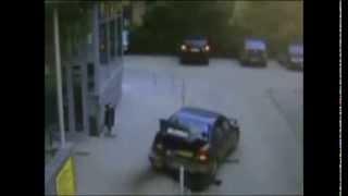 Авто приколы Блондинка за рулем За рулем бабы Приколы 2014 №1 Auto prikoly.Blondinka driving.