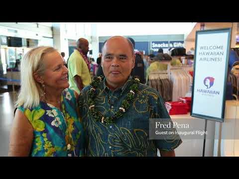 Aloha, Long Beach! Hawaiian Airlines flies to Long Beach, California