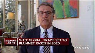 WTO Director General Roberto Azevedo on plummeting global trade