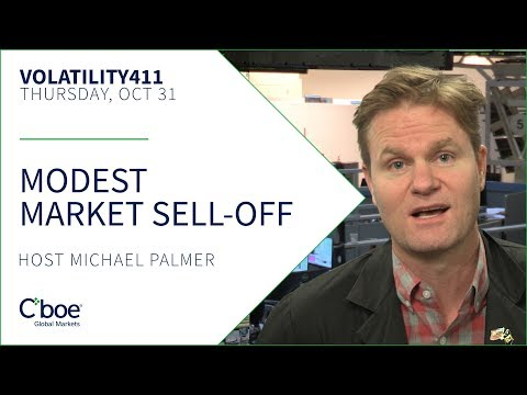 Modest Market Sell-Off