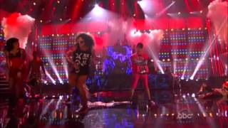 LMFAO Live American Music Awards 2011 (Party Rock Anthem & Im Sexy And I Know It) 1080p HD