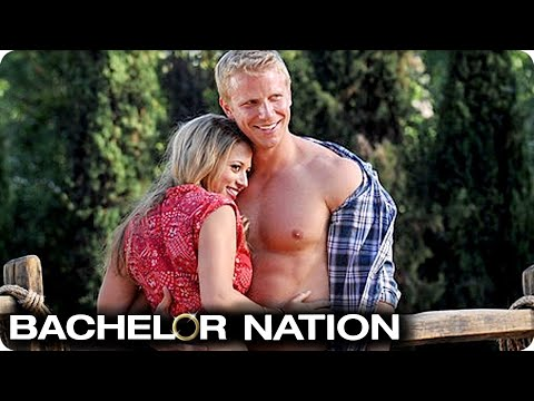 Sean Shows Off His Body In Group Date Challenge! | The Bachelor US