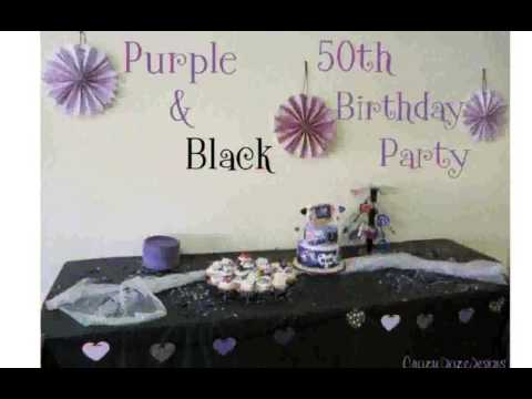 50th Party Decorations - Thimborada