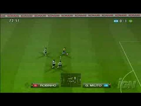 PES 2009 Gameplay Videos From IGN.