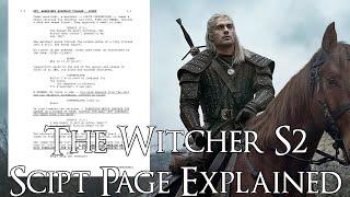 The Witcher S2 Script Page ကိုရှင်းလင်းဖော်ပြခြင်း (စုန်းမဇာတ်ကောင်၊ စုန်းမရာသီ ၂၊ ရှင်းပြချက်)