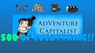 Here you have it, an entire AdVenture Capitalist journey condensed into 15 minutes. I decided to give away a few of my secret business strategies. ;) P.S. I spent ...