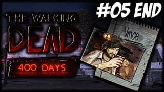 The Walking Dead: 400 Days - EP05 - Vince And Ending (DLC Let