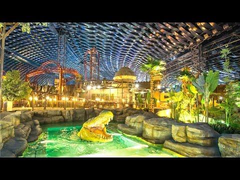 INSIDE THE WORLD'S LARGEST INDOOR THEME PARK: IMG WORLDS OF ADVENTURE DUBAI