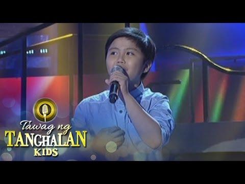 Tawag ng Tanghalan Kids: John Agda - Basta't Kasama Kita - 동영상