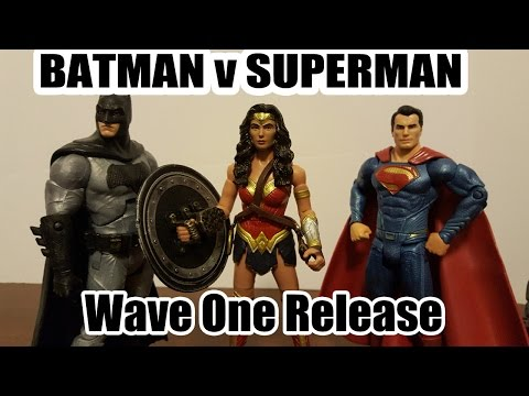 Batman v Superman: Dawn of Justice  multiverse movie figures