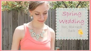 Spring Wedding Hair, Makeup, and Outfit Thumbnail