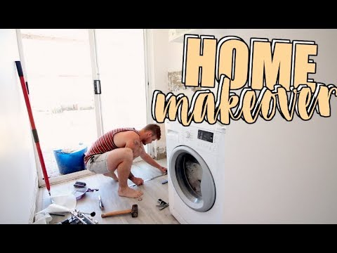 House Makeover | Home Renovation Laundry & Wet Room