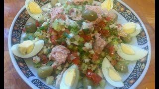 Cuisine Tunisienne - La Salade Tunisienne (de Tunis)