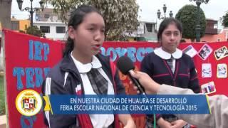 09 25 DISTRITO DE HUAURA - FENCYT 2015 - FERIA DE CIENCIA Y TECNOLOGIA