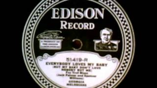 """Everybody Loves My Baby"" - The Georgia Melodians (1924 Edison)"