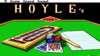 Hoyle's Book of Games Volume 1 gameplay (PC Game, 1989)