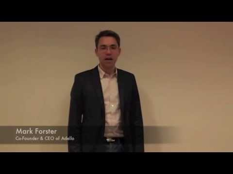 venture leaders: Mark Forster & Adello