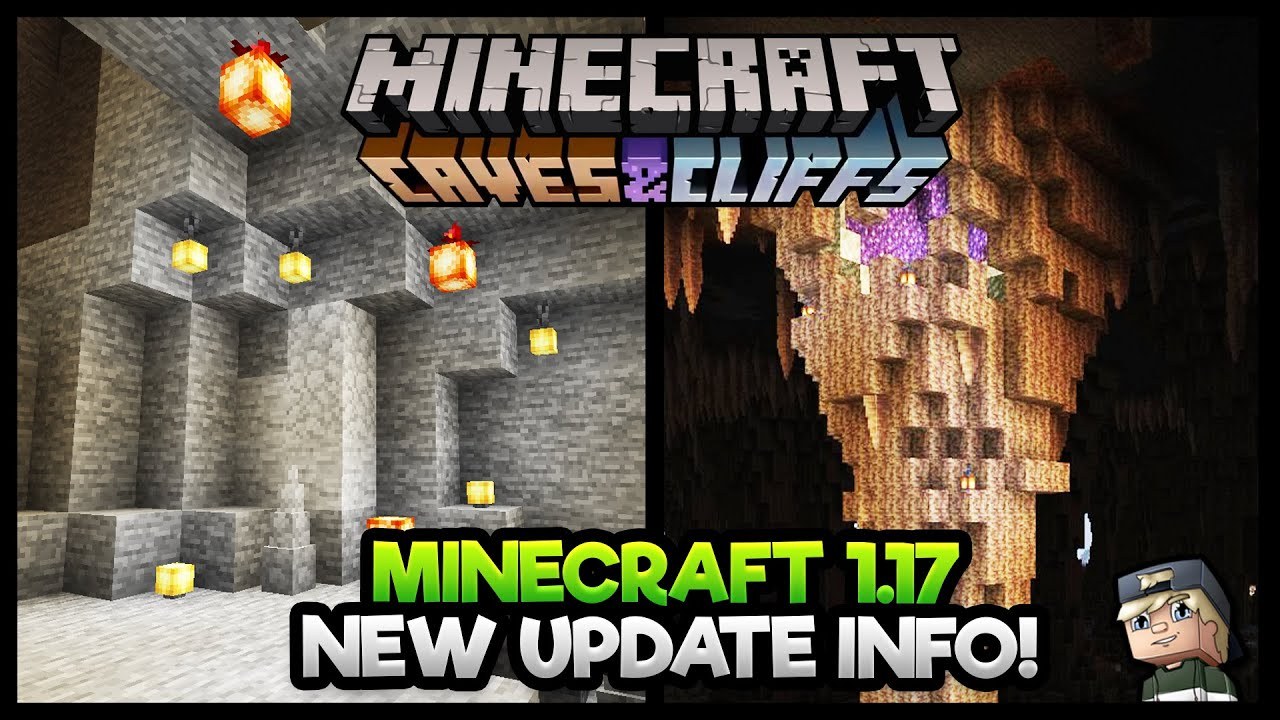 CONFIRMED! Minecraft 12.127 Caves and Cliffs Update NEW UPDATE INFO! (Geode +  Cave Lighting)