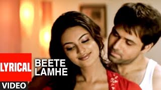 """Beete Lamhe"" Lyrical Video Song  