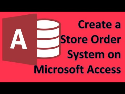 Microsoft Access - 00 Create a simple store invoice system tutorial