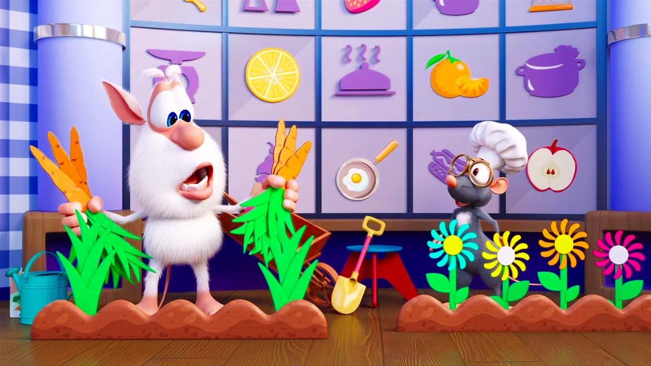 Буба - Шеф повар! ?? Цветочный огород ??  Kedoo мультики для детей