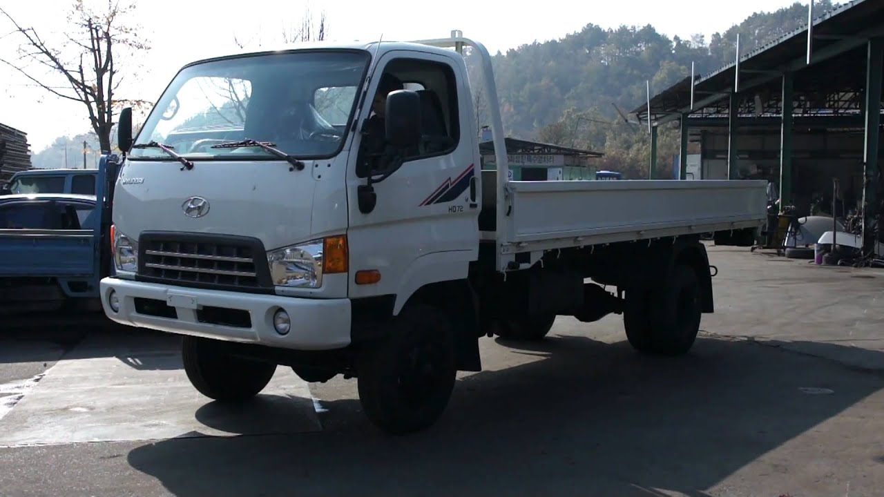 hyundai mighty 3 5t 4wd truck youtube. Black Bedroom Furniture Sets. Home Design Ideas